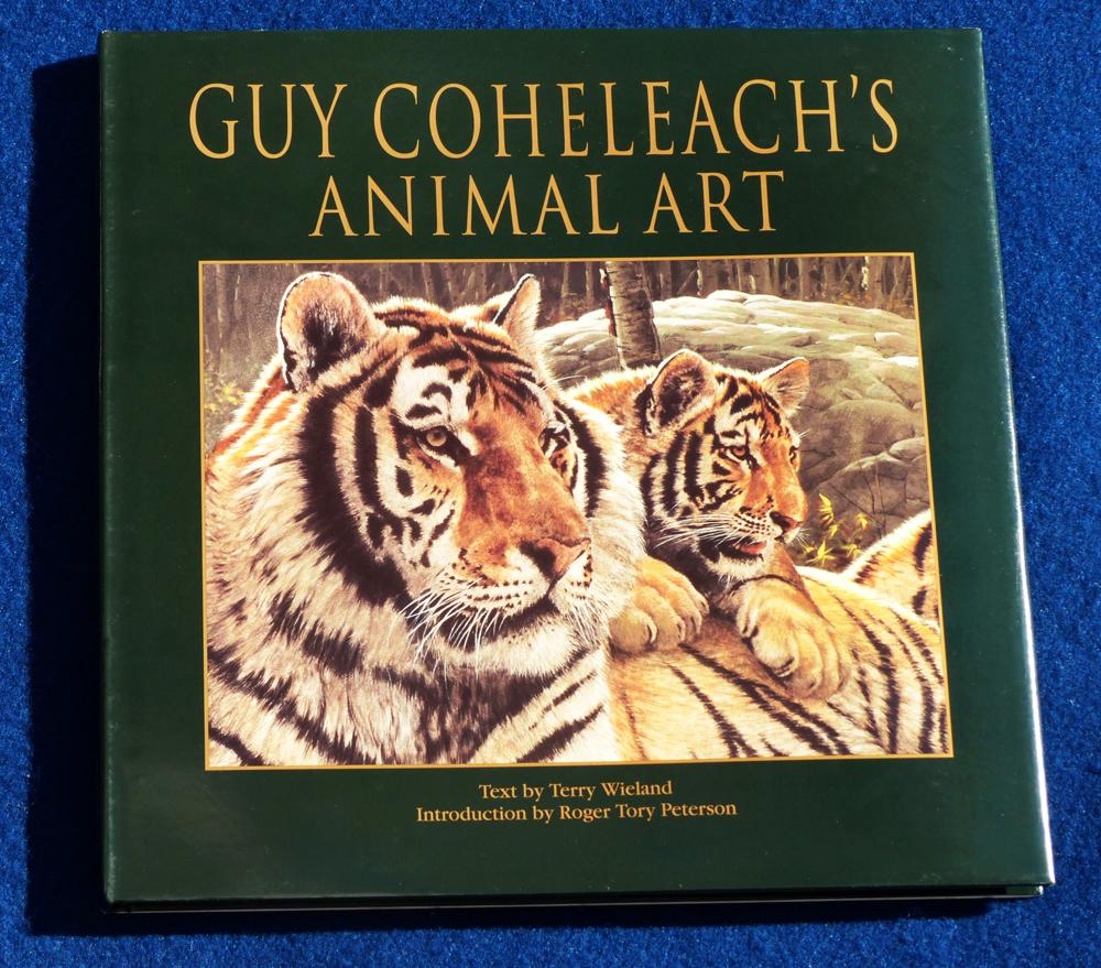 Guy Coheleach's Animal Art - Coffee Table Book Coheleach's Animal Art  Coffee Table Books  Collectable Plates