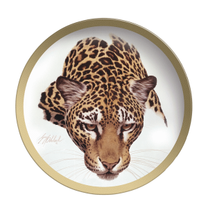 """Jaguar Head"" Collectable Plate by Guy Coheleach"
