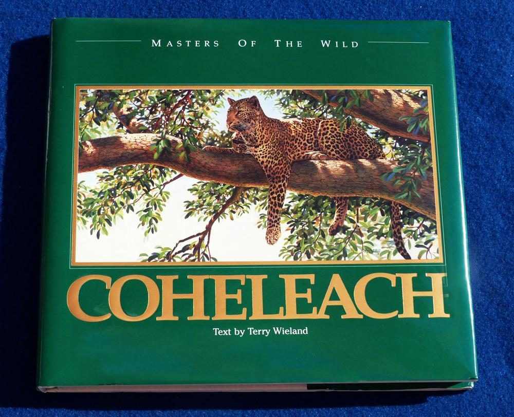 Masters of the Wild - Guy Coheleach's Coffee Table Book Masters of the Wild  Coffee Table Books  Collectable Plates