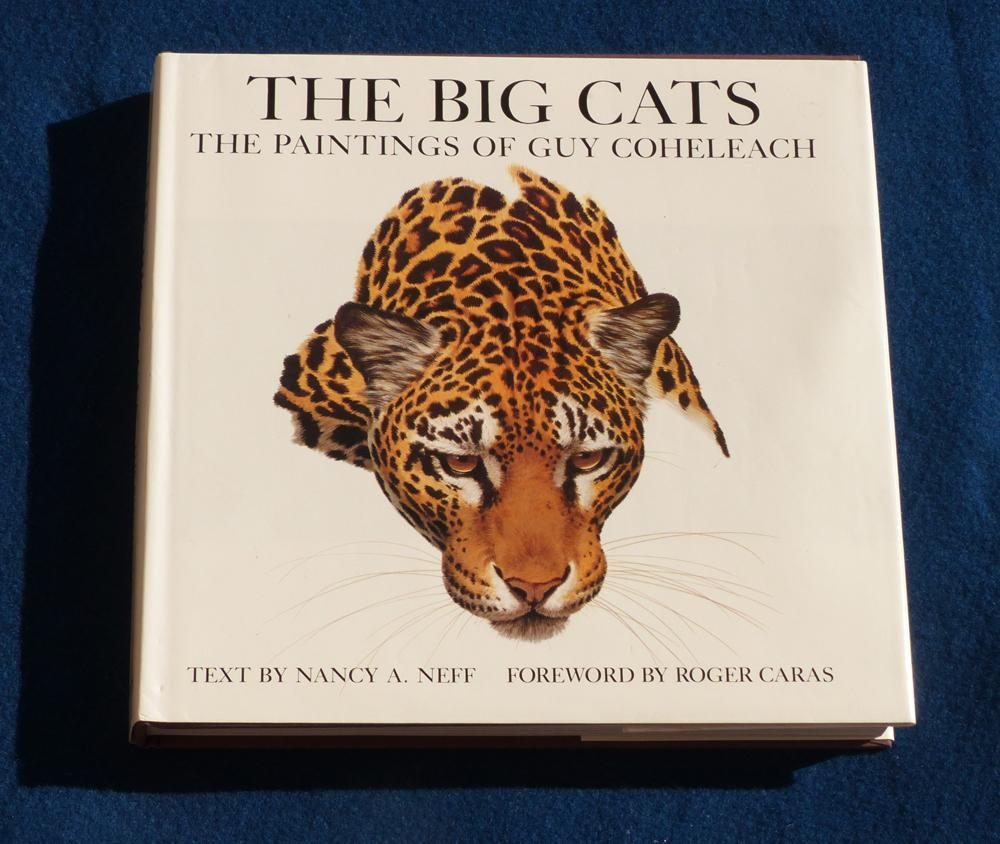 The Big Cats <br> The Paintings of Guy Coheleach - Coffee Table Book The Big Cats  Coffee Table Books  Collectable Plates